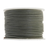 Leather Round Cord 1.5mm Grey